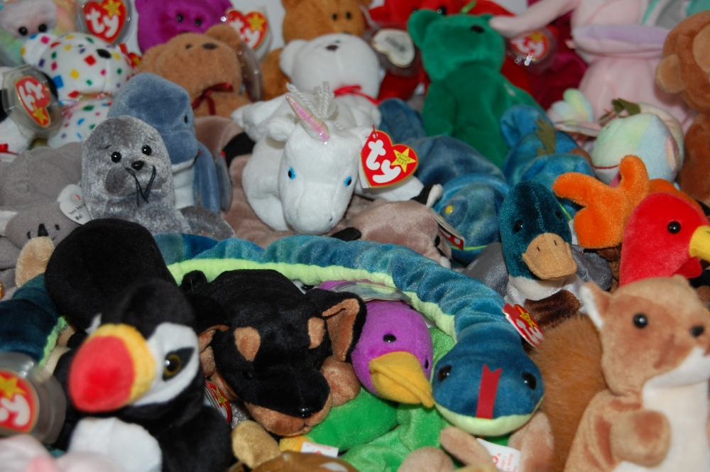 Large Beanie Baby Collection