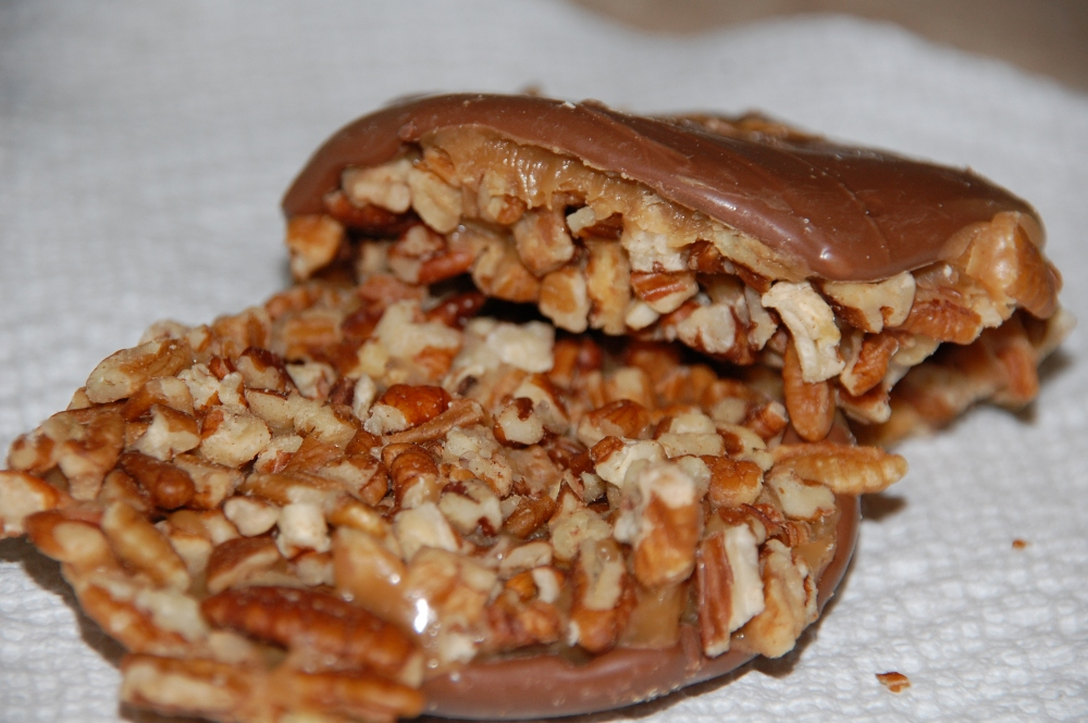 Bear Claw from River Street Sweets in Savannah, Georgia