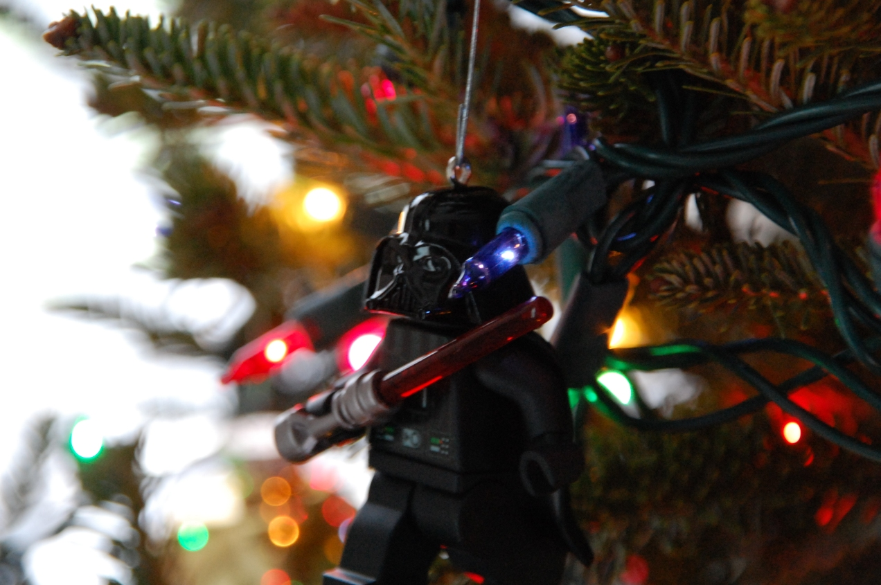 Darth Vader Lego Christmas Ornament
