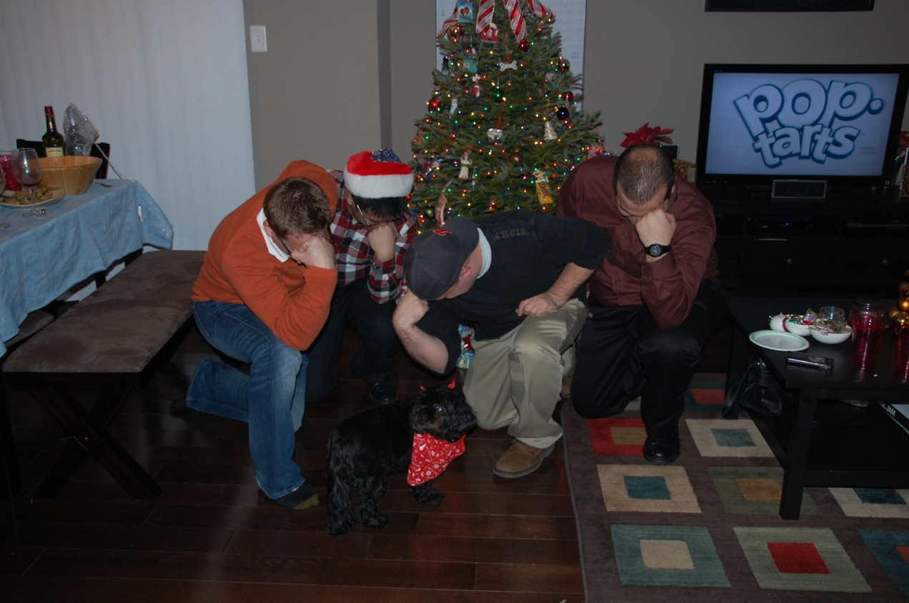 Group Tebowing