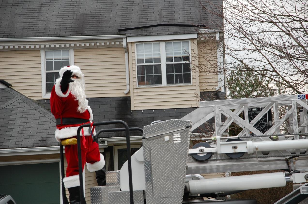 Santa Passing Through