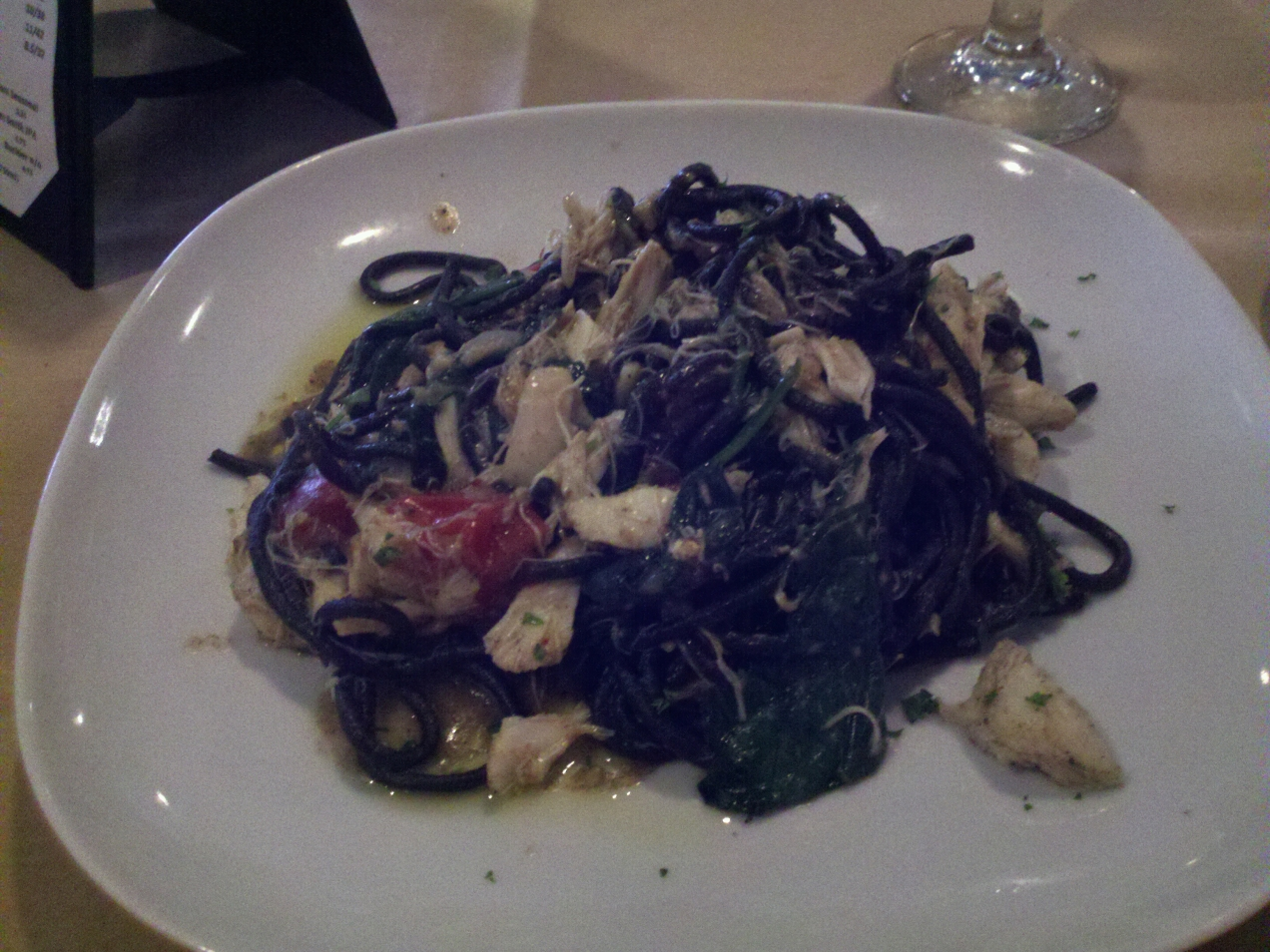 Black Spaghetti - La Tavola, Baltimore