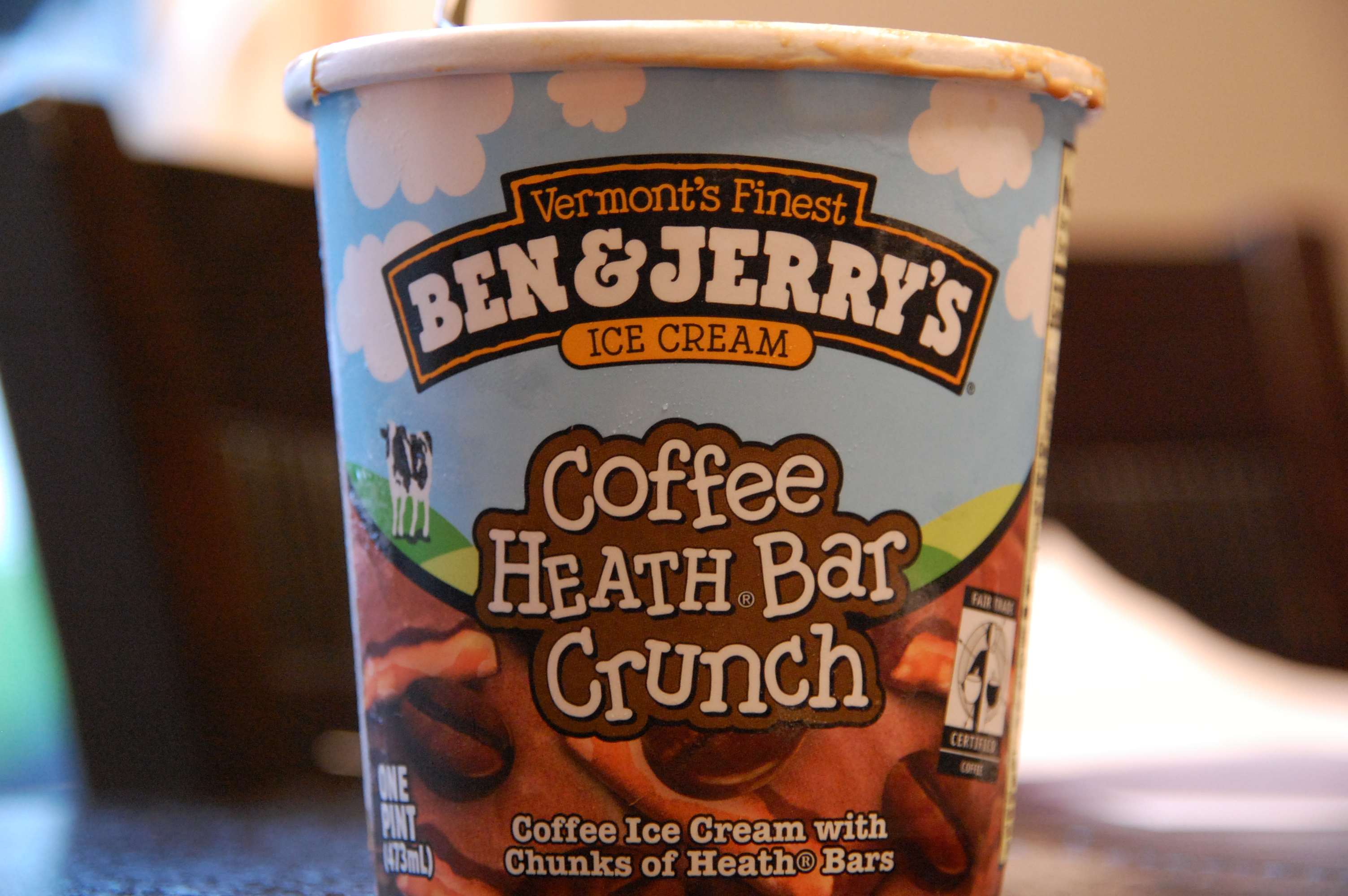 They spread out the Heath bar chunks just far enough so that you have ...