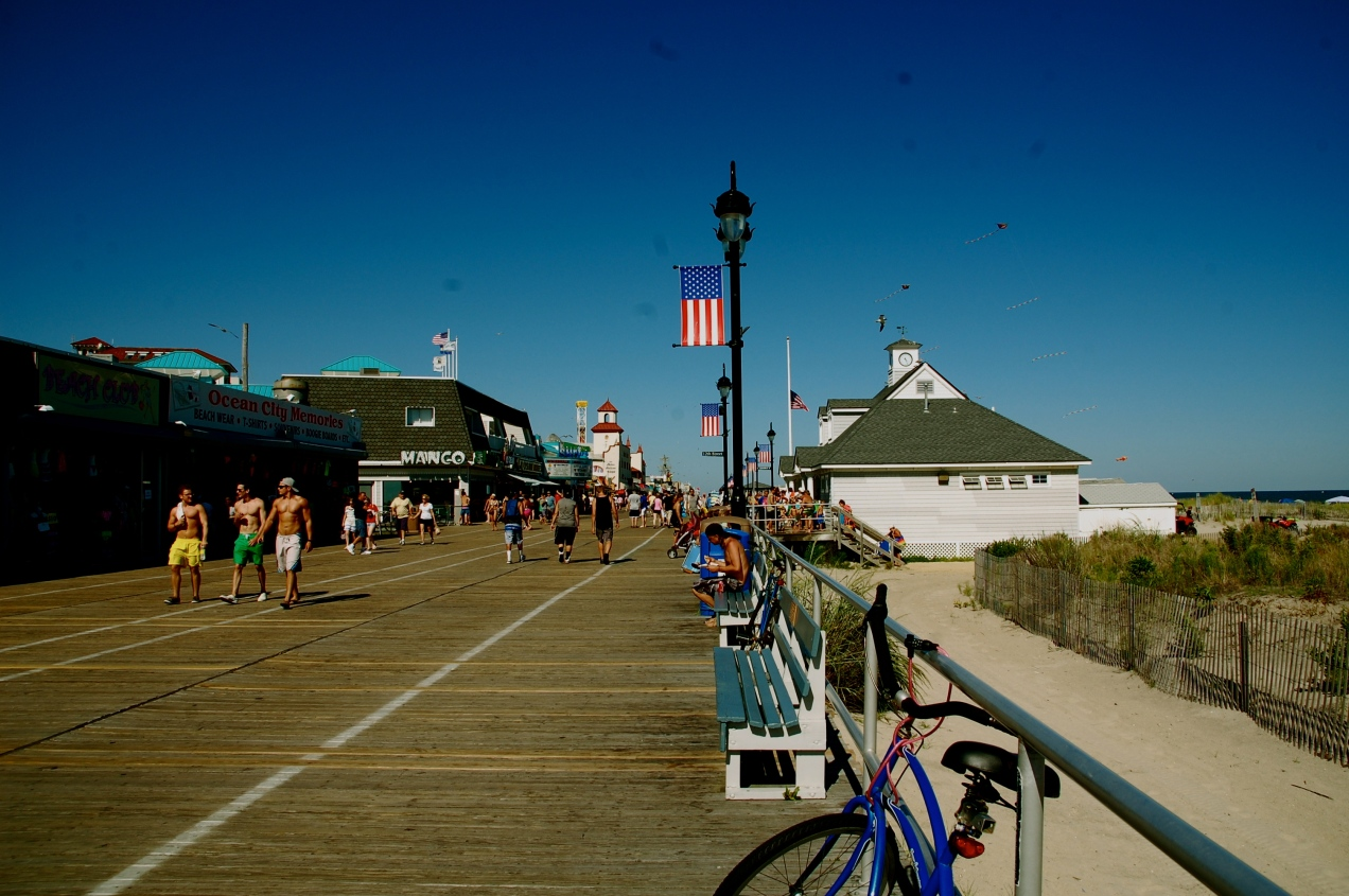 Boardwalk in Ocean City, New Jersey