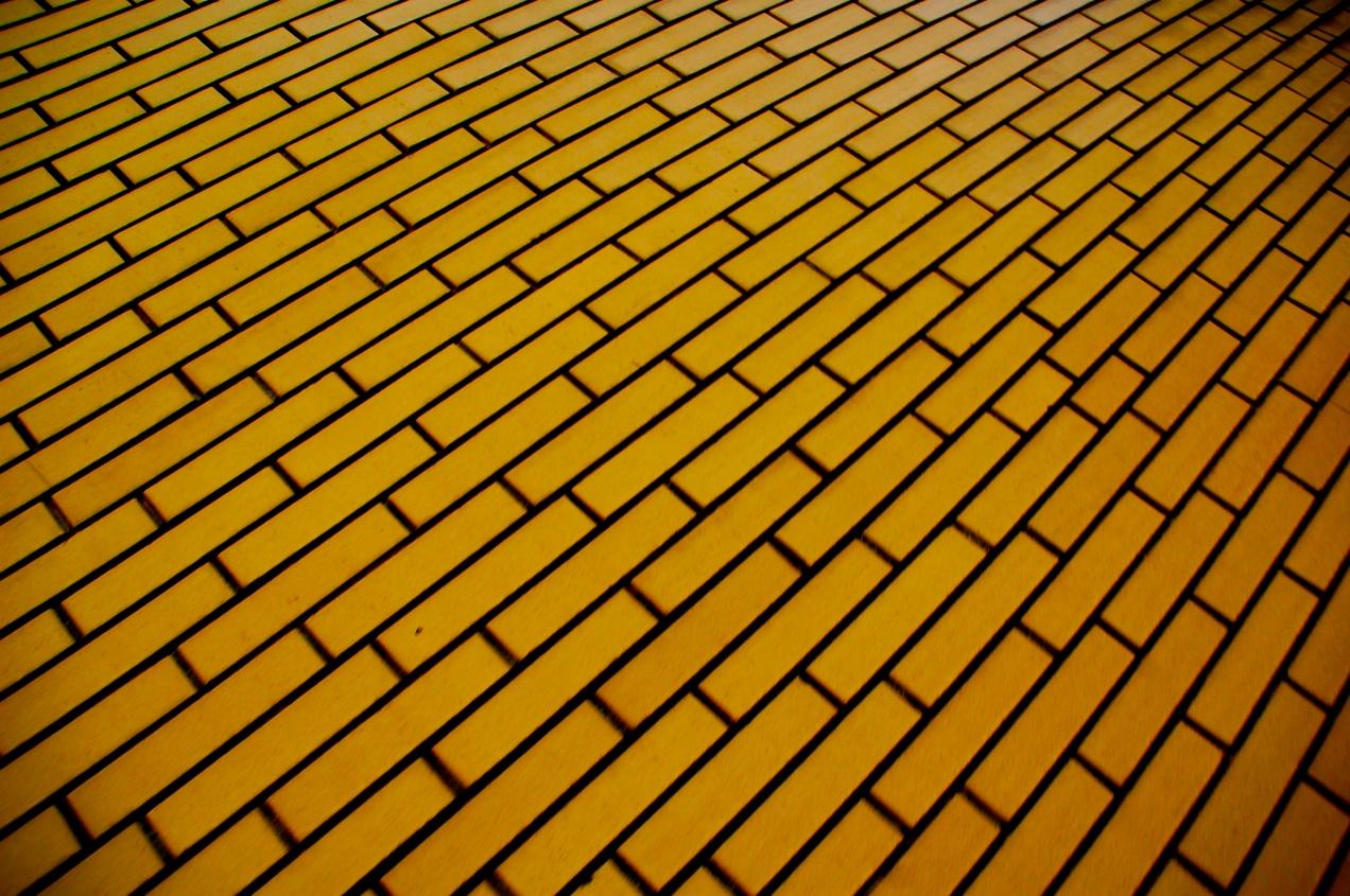 Patterned Walkway - Budapest, Hungary