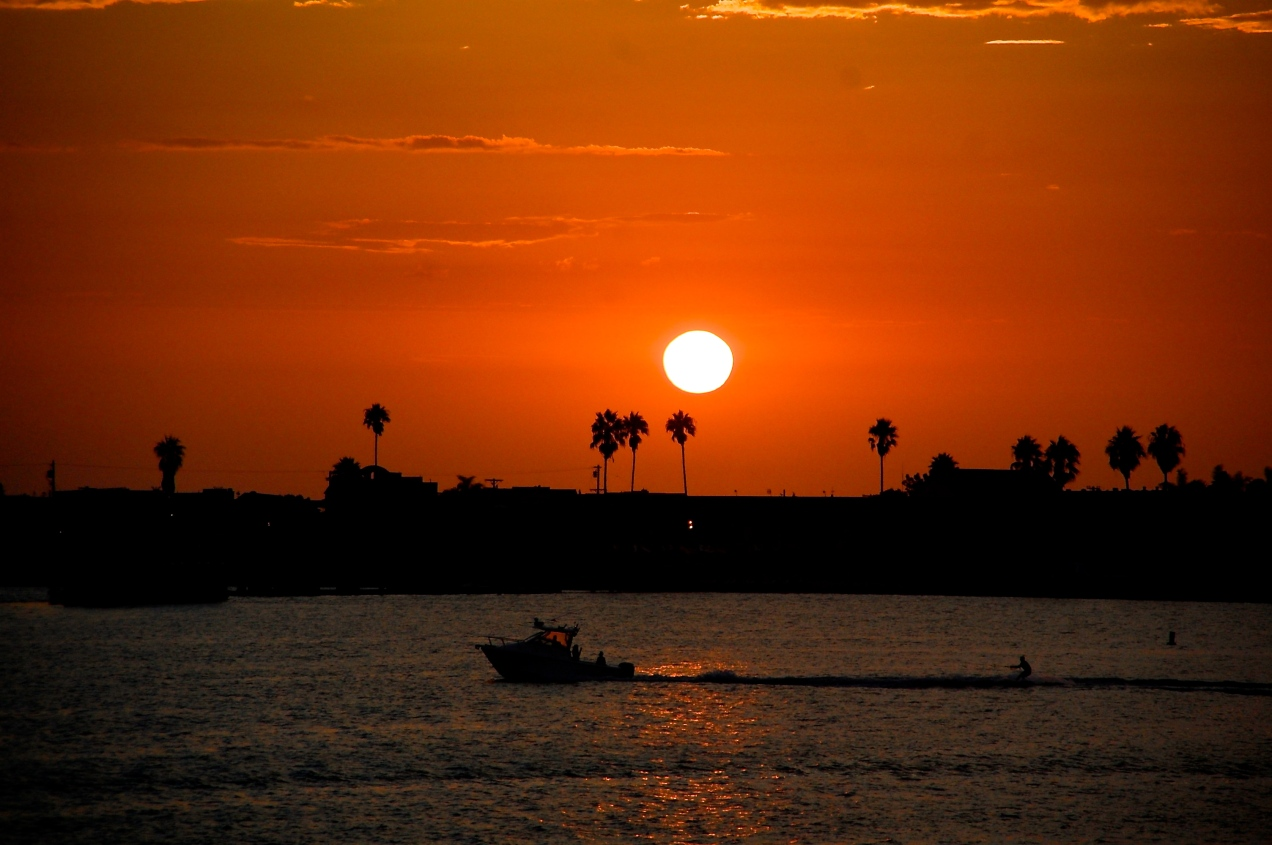 Mission Bay Sunset - San Diego, CA