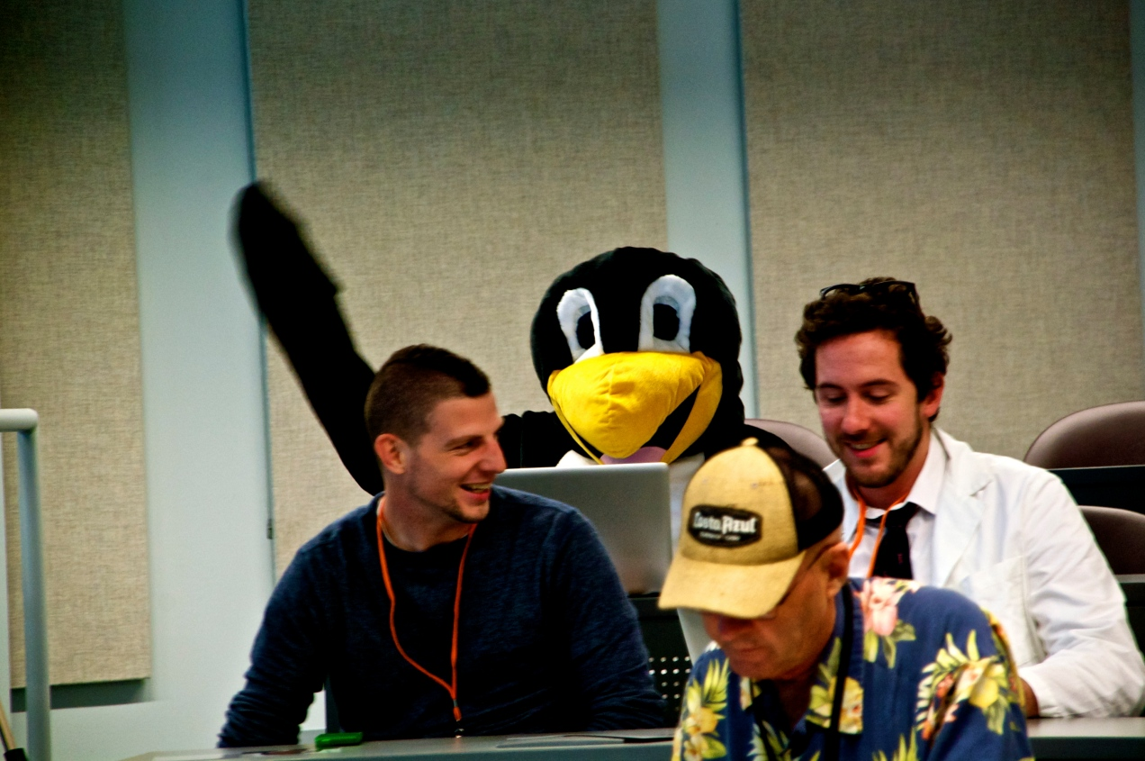 A Penguin at WordCamp Philly 2012