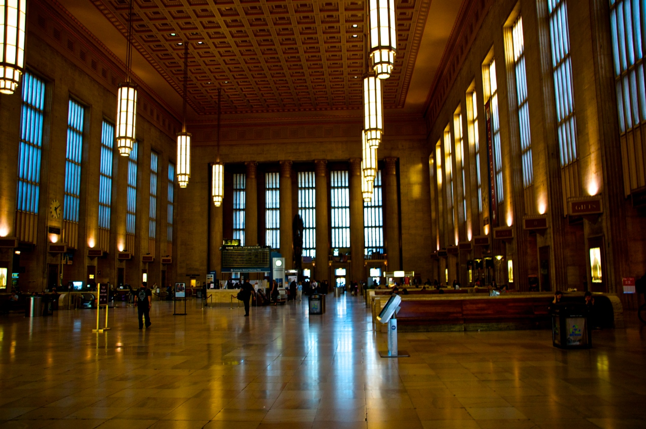 Inside 30th Street Station - Philadelphia, PA