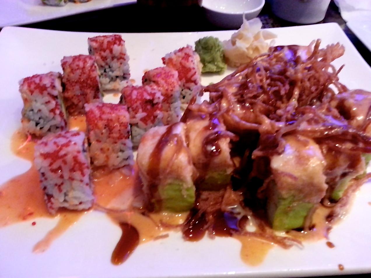 Sushi from Kumo