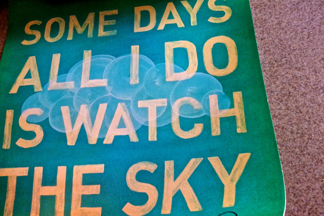 Watch the Sky - Andrew McMahon Art Print