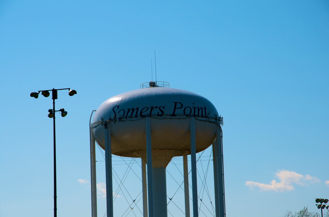 Somers Point, NJ Water Tower