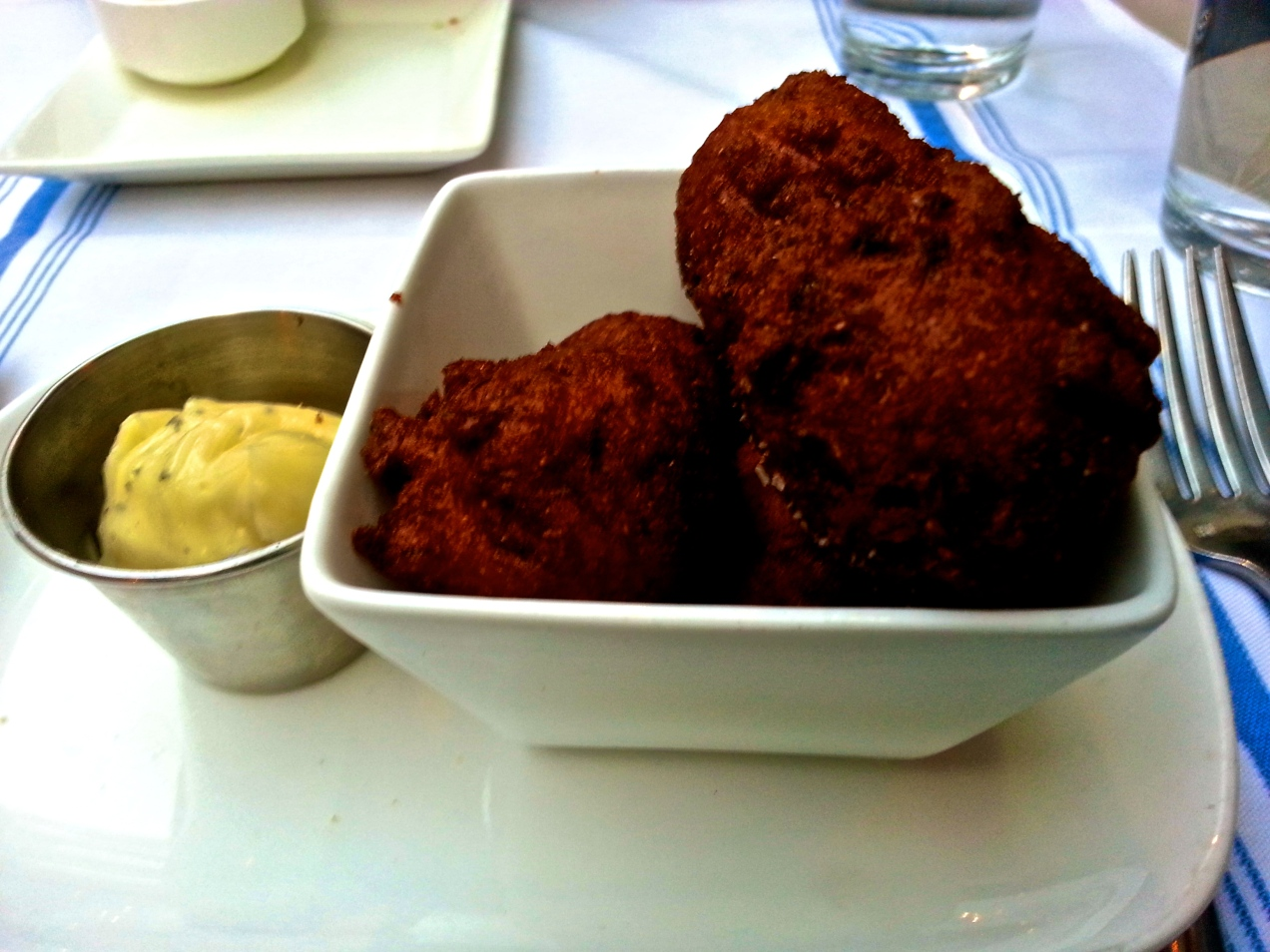 Salt Cod Hushpuppies - The Corner, Philadelphia, PA