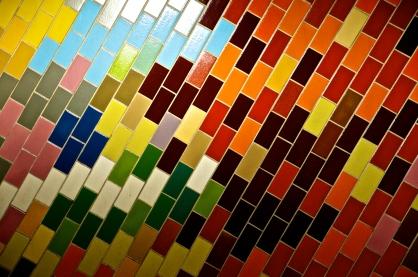 Color Tile - Market East, Philadelphia