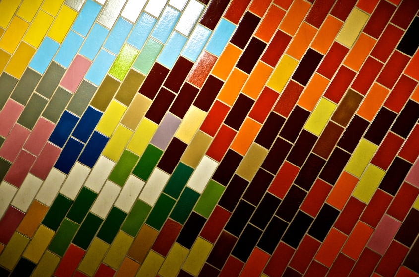 Color Tile - Market East, Philadelphia
