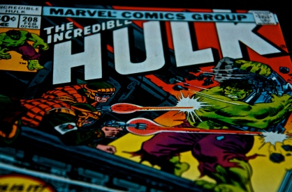 The Incredible Hulk Comic Book