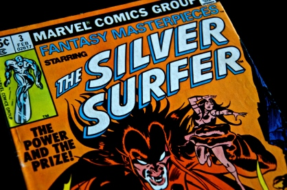 Silver Surfer Comic Book