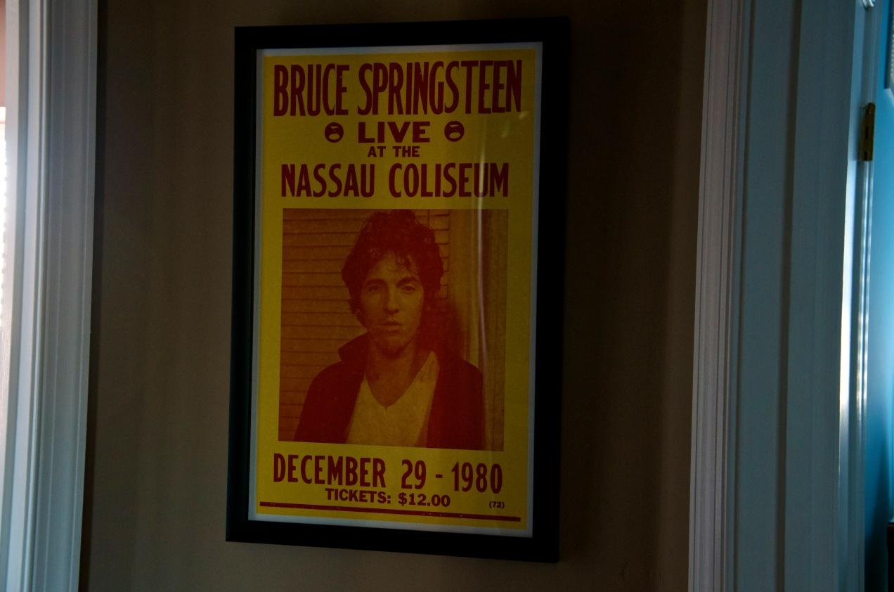 Bruce Springsteen Concert Poster