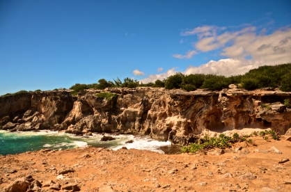 The Cliffs at Shipwreck Beach - Kauai, Hawaii