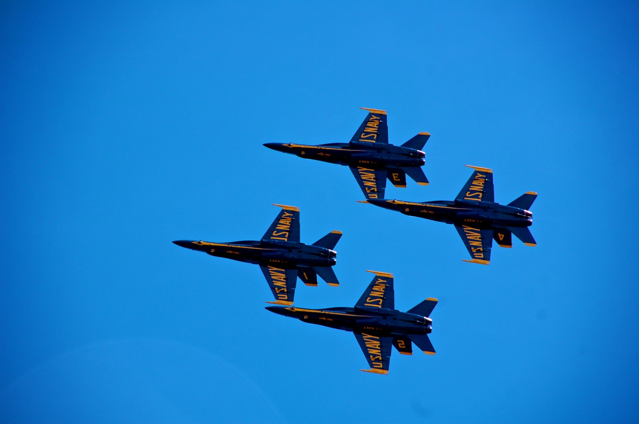 Blue Angels at Baltimore's Sailabration, 2012